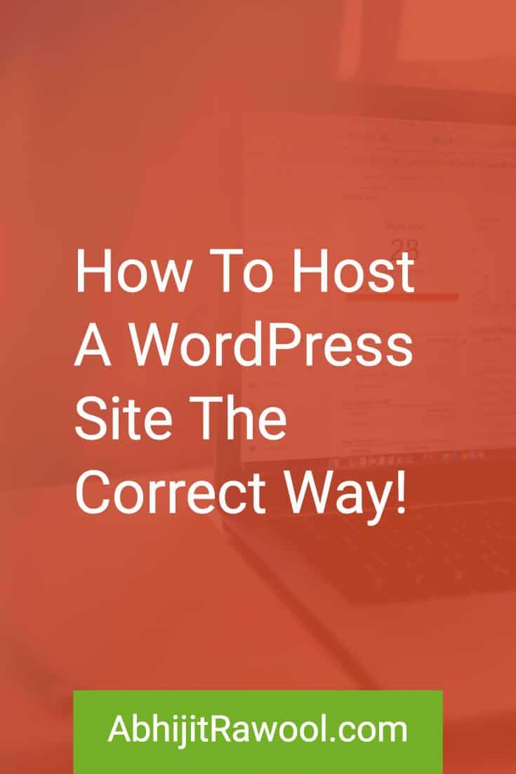 How To Host A WordPress Site