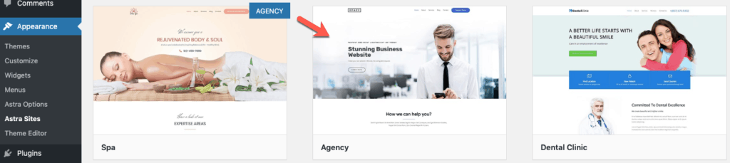 Select Agency Starter Site