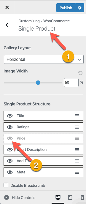 Disable WooCommerce Single Product Price